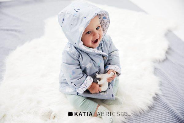 patrón abrigo bebé