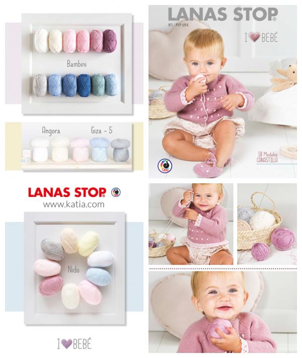 Lanas Stop y revista Canastilla