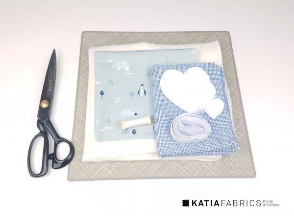 tutorial mantel individual san valentín