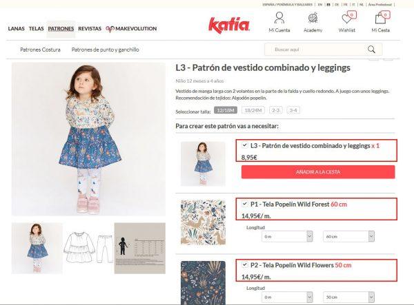 como comprar patrones de costura