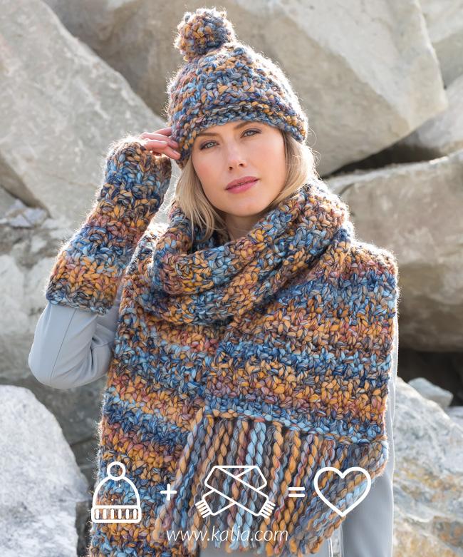 super popular 21cae 8b718 Gorros y bufandas de lana: 16 patrones de punto para este ...
