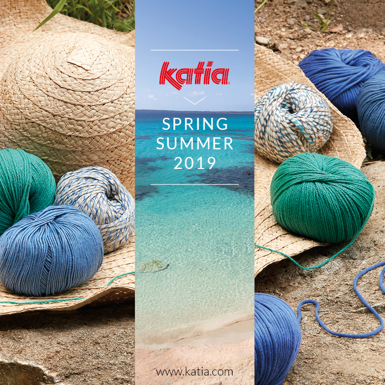 c6a4ba322 Hilos Katia Primavera Verano 2019  15 nuevos ovillos y un sorteo
