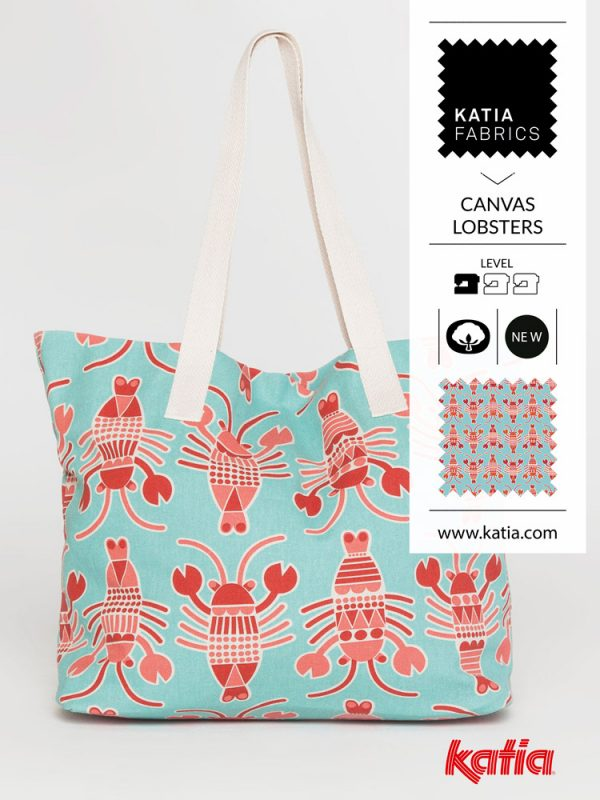 BOLSO LOBSTERS CANVAS