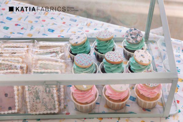 galletas cupcakes katia fabrics