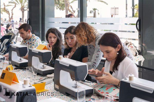 taller de costura totebag confección