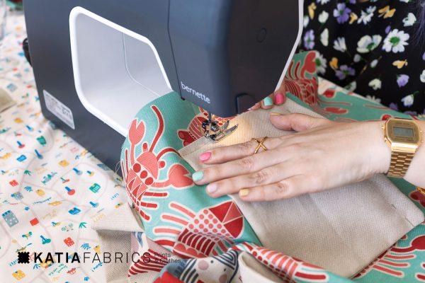 taller de costura totebag bolsillo