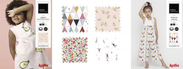 telas de verano katia fabrics