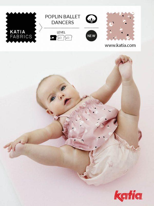 vestido y braguita bebe