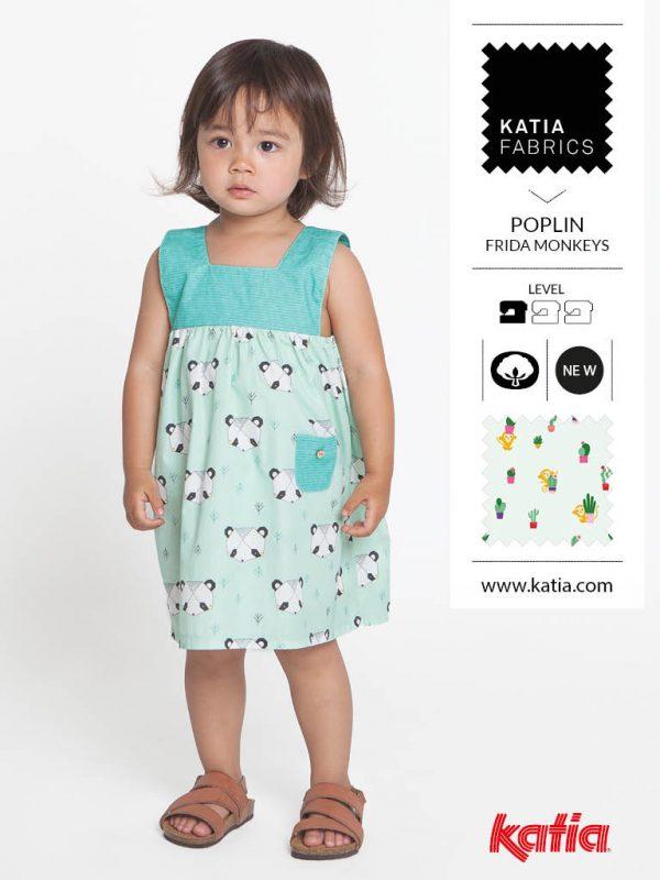Vestidos niña con canesu