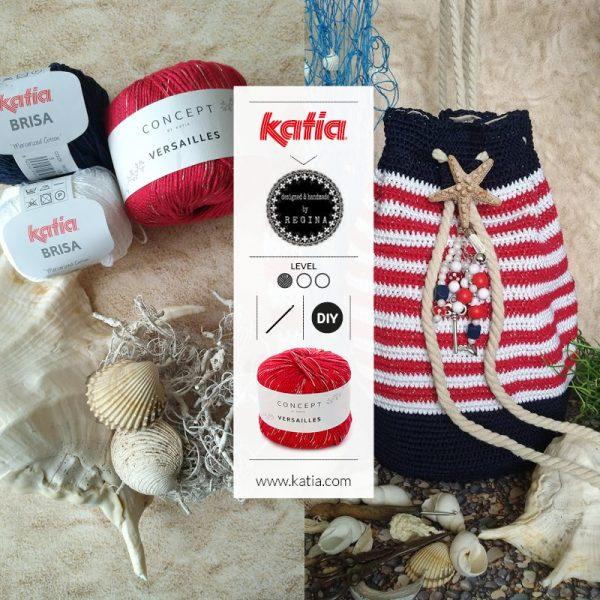 Bolso Saco de crochet