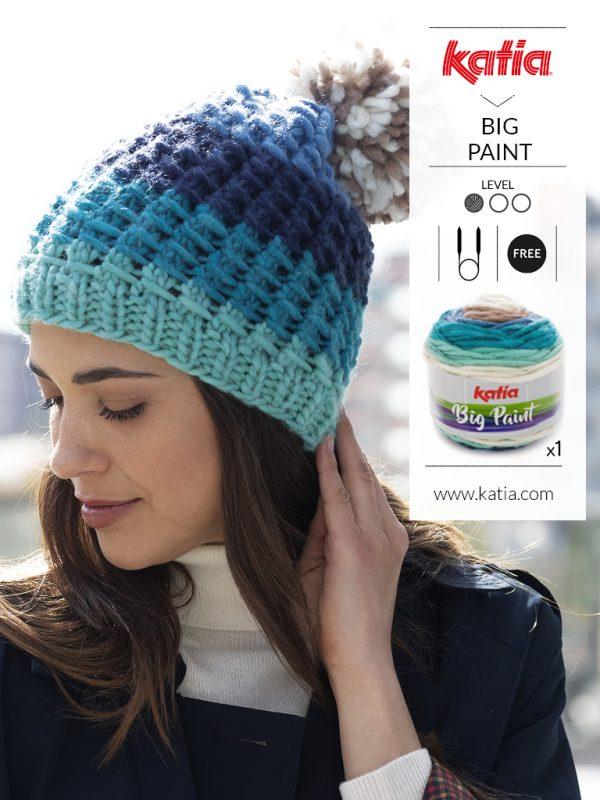 Gorro de lana agujas circulares