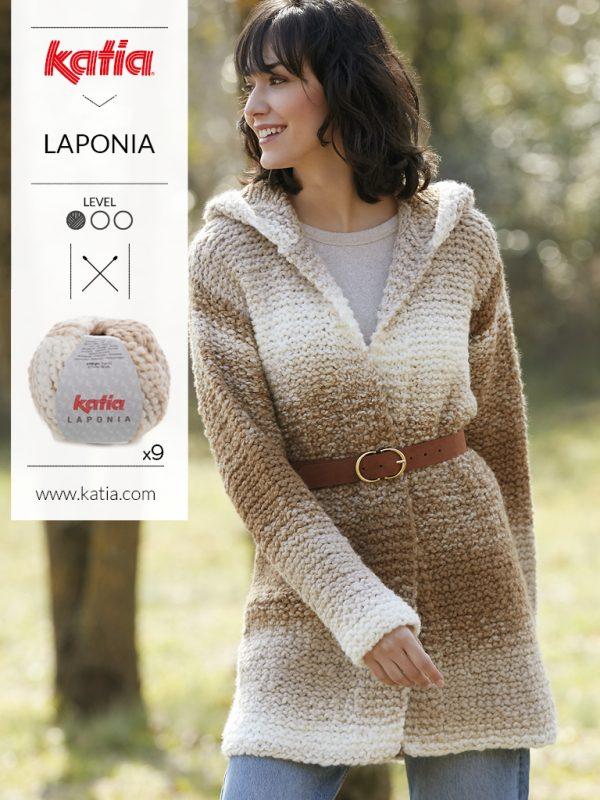 lana degradé ondé