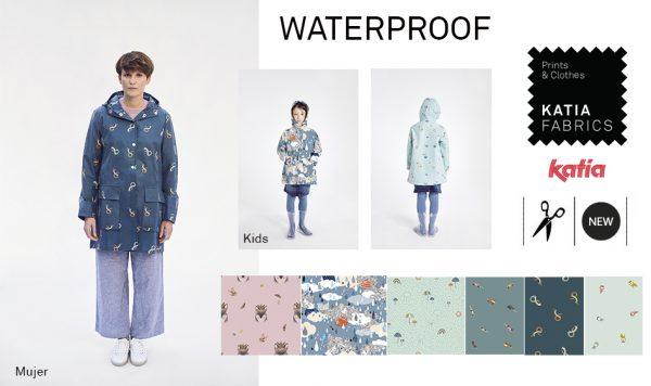 colección telas waterproof