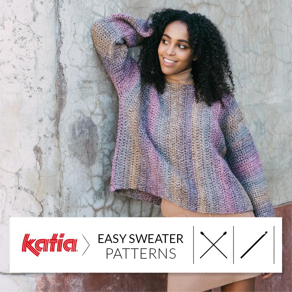 Patrones de jerséis fáciles