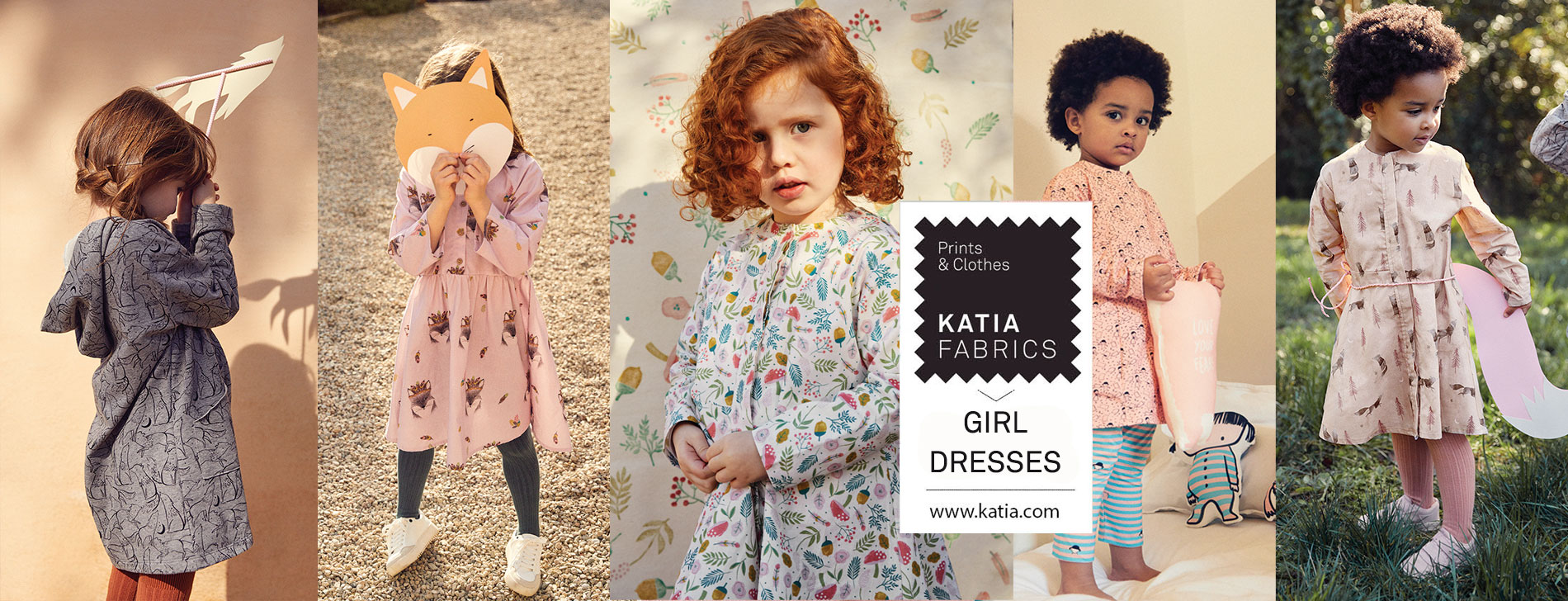 slide vestidos de niñas