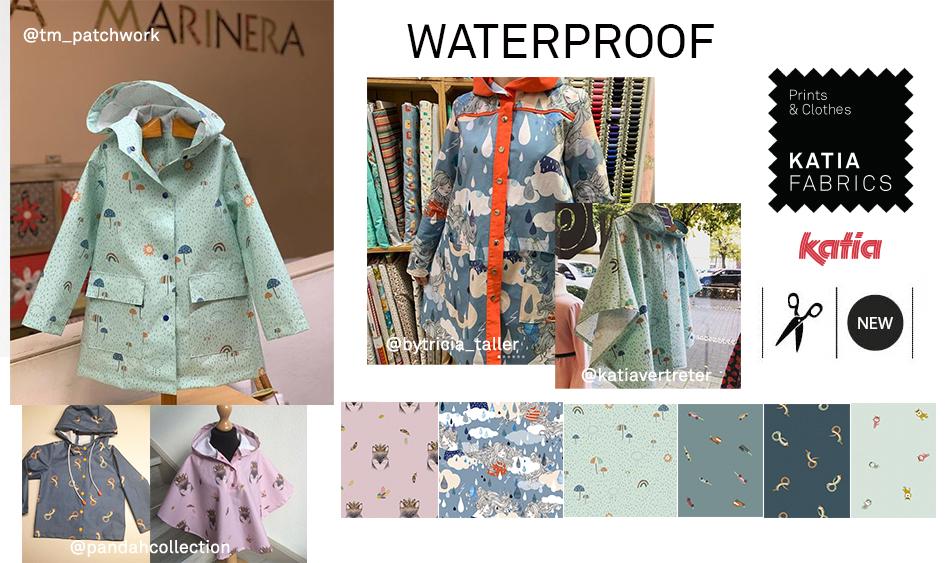 telas de invierno waterproof