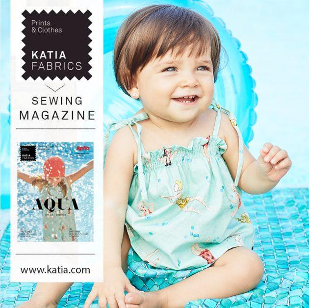 Revista de patrones Katia Fabrics