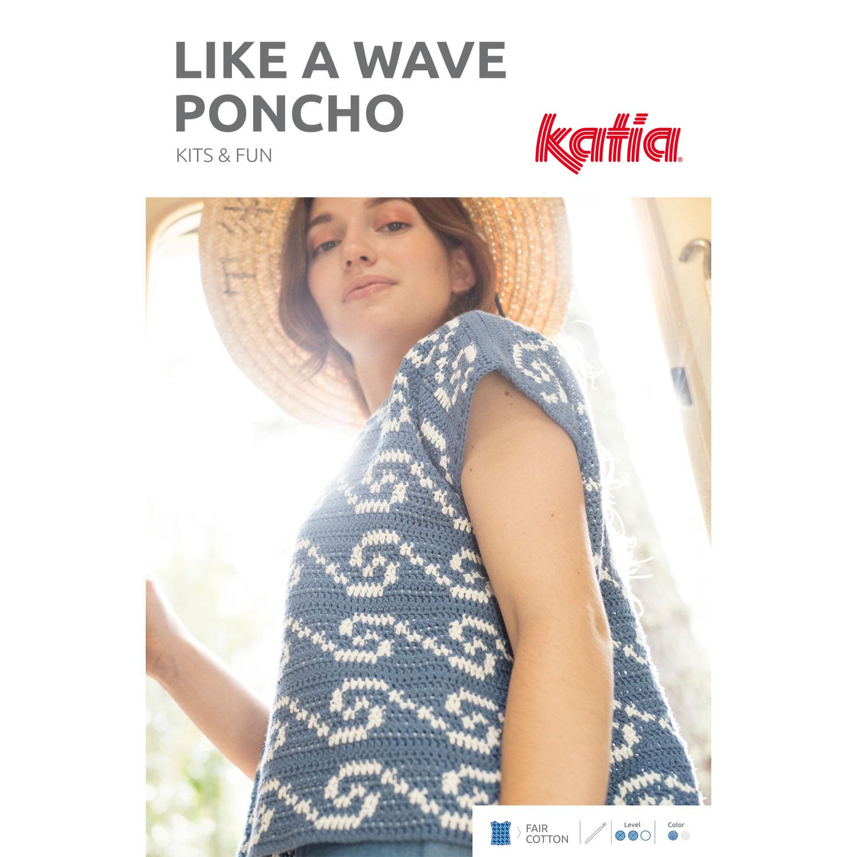 Kit de Crochet Poncho