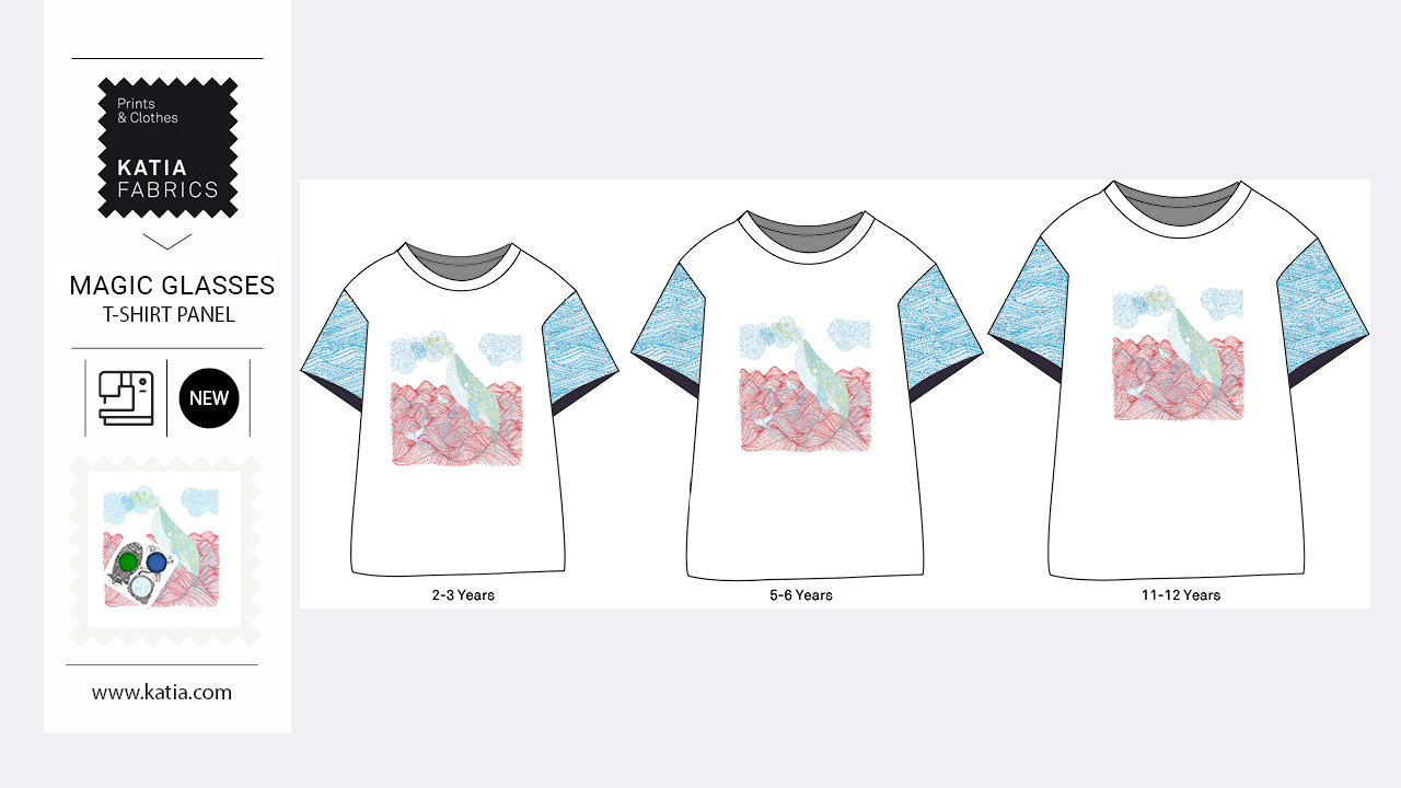 paneles de camisetas