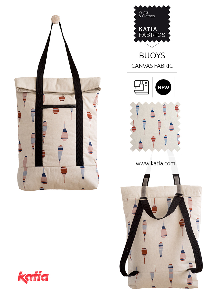 bolso canvas boyas