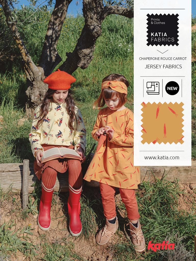 Carrots fabric