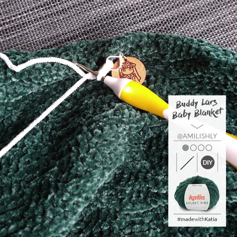 manta de apego a crochet