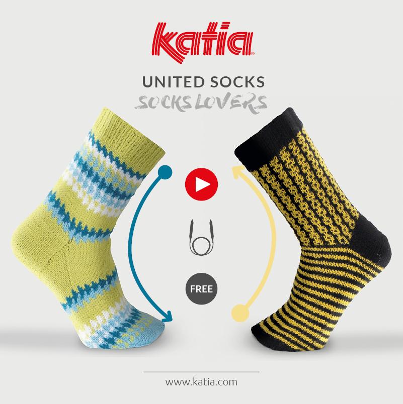 videotutoriales para tejer calcetines