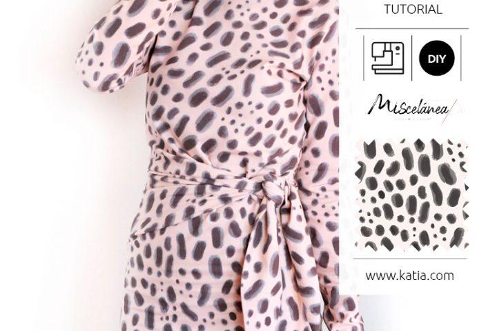 vestido anudado tutorial