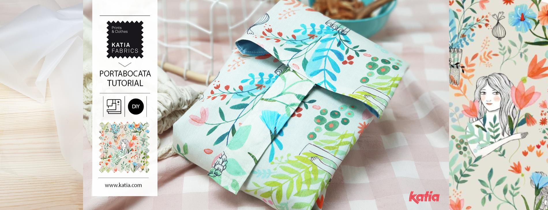 cómo coser un portabocadillos
