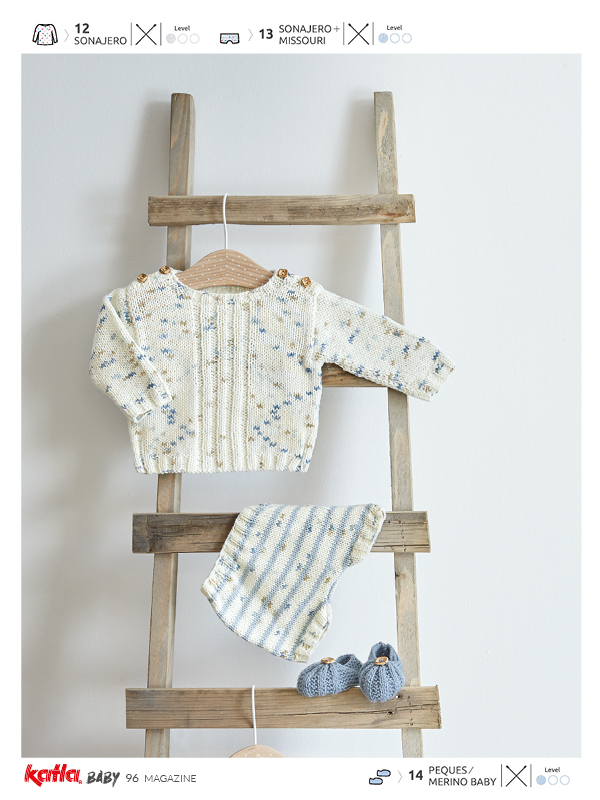 conjunto bebé tricot