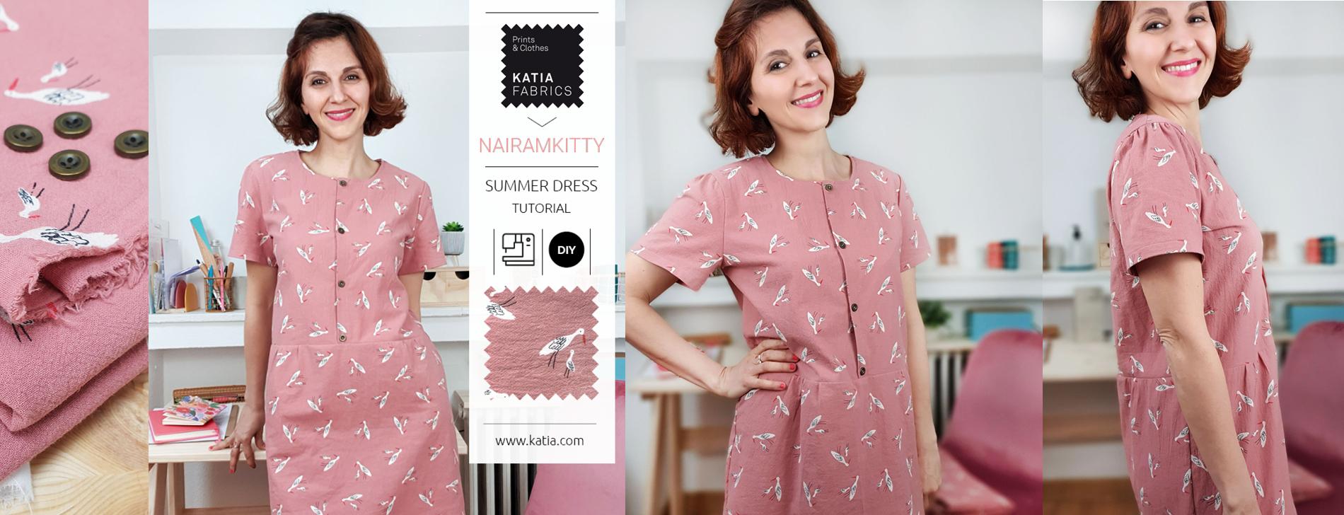 tutorial vestido de verano mujer