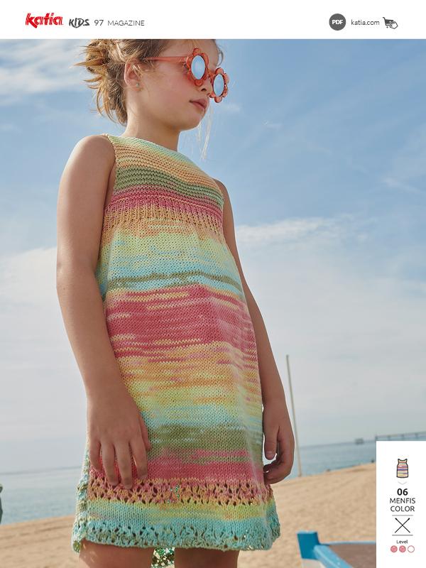 Modelli semplici ai ferri per bambine