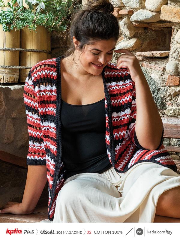 patrones tallas grandes de crochet