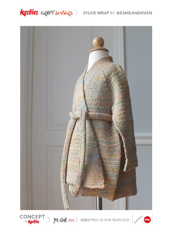 chaqueta niña a crochet