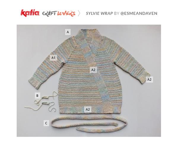 partes kimono ganchillo