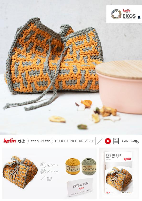 kit portatupper crochet mosaico