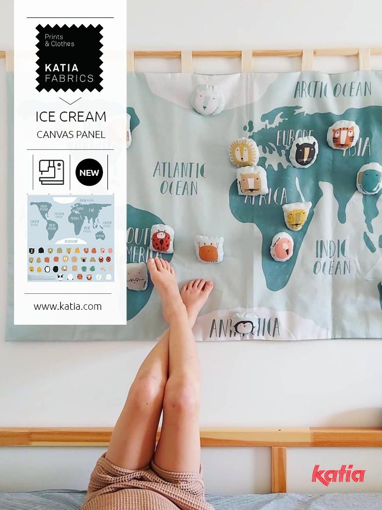 Panel Mapa del mundo para niños