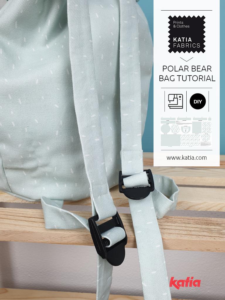 Polar bear bag tutorial trasera