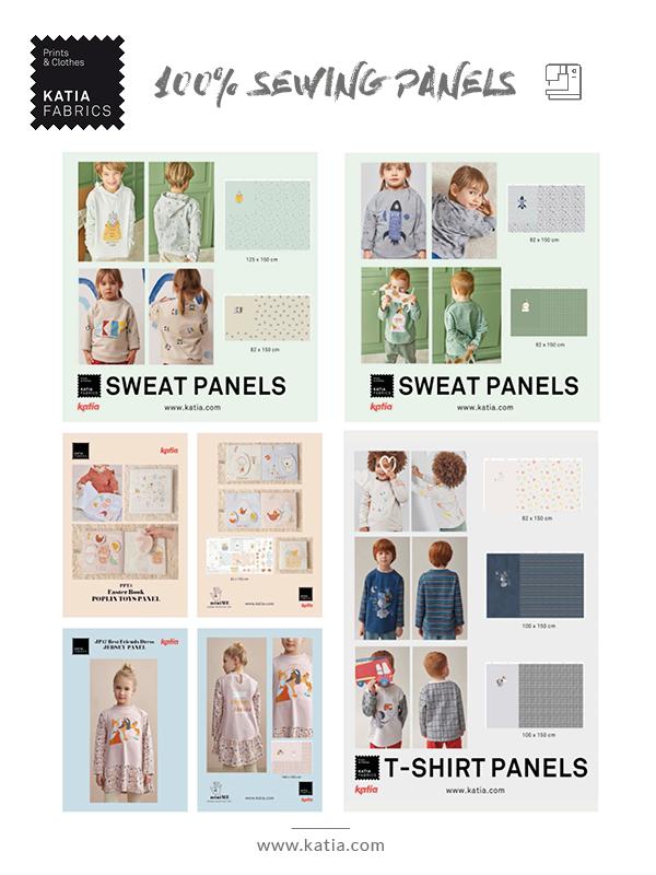 paneles de costura ropa infantil