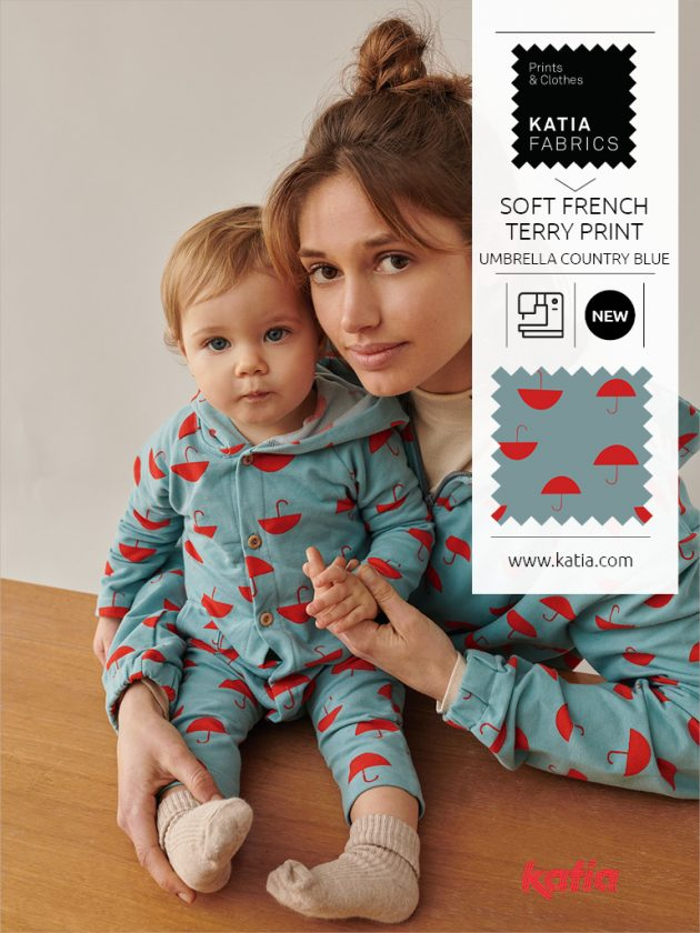 Soft french terry print