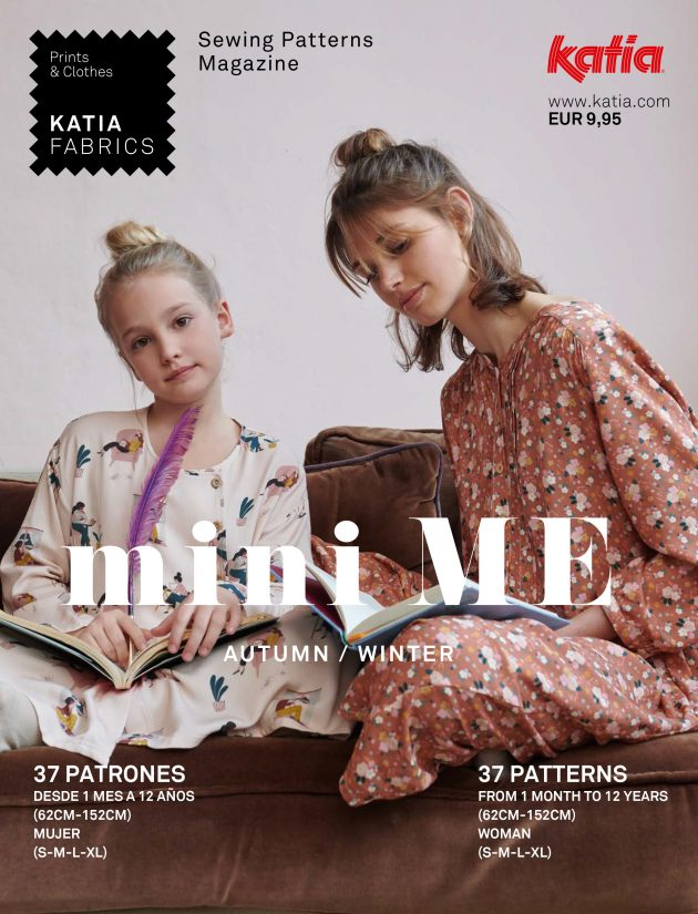 Revista de Patrones de Costura miniME AW 21/22