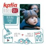 Katia VideoKAL de Septembre: bonnet pour bébé tricoté en Merino Sport ou Merino Aran
