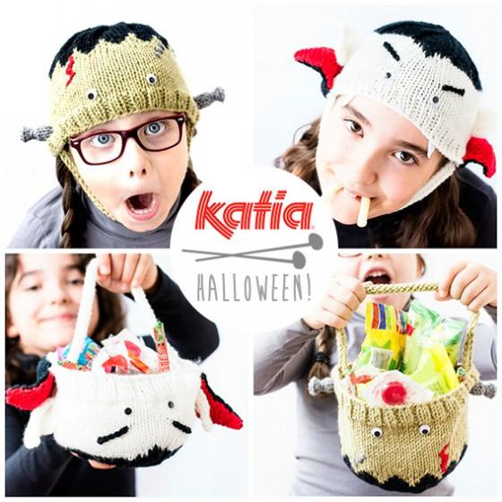 Bonnets Halloween au crochet par Katia