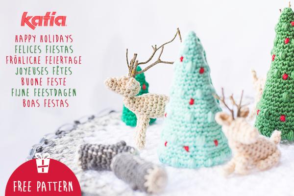 Albero e folletto natalizio amigurumi. Schema gratuito! - Airali | 400x600