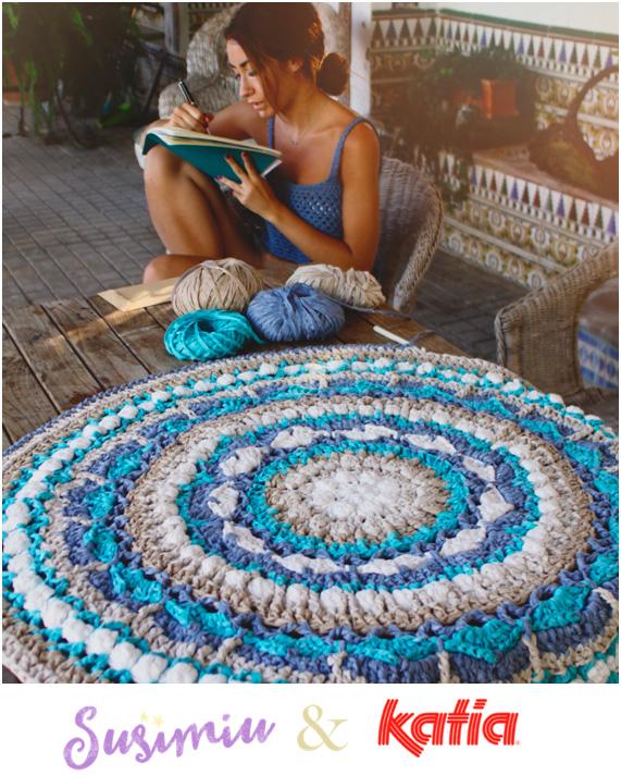 Craft lovers tappeto mandala by susimiu con washi - Tappeto mandala ...