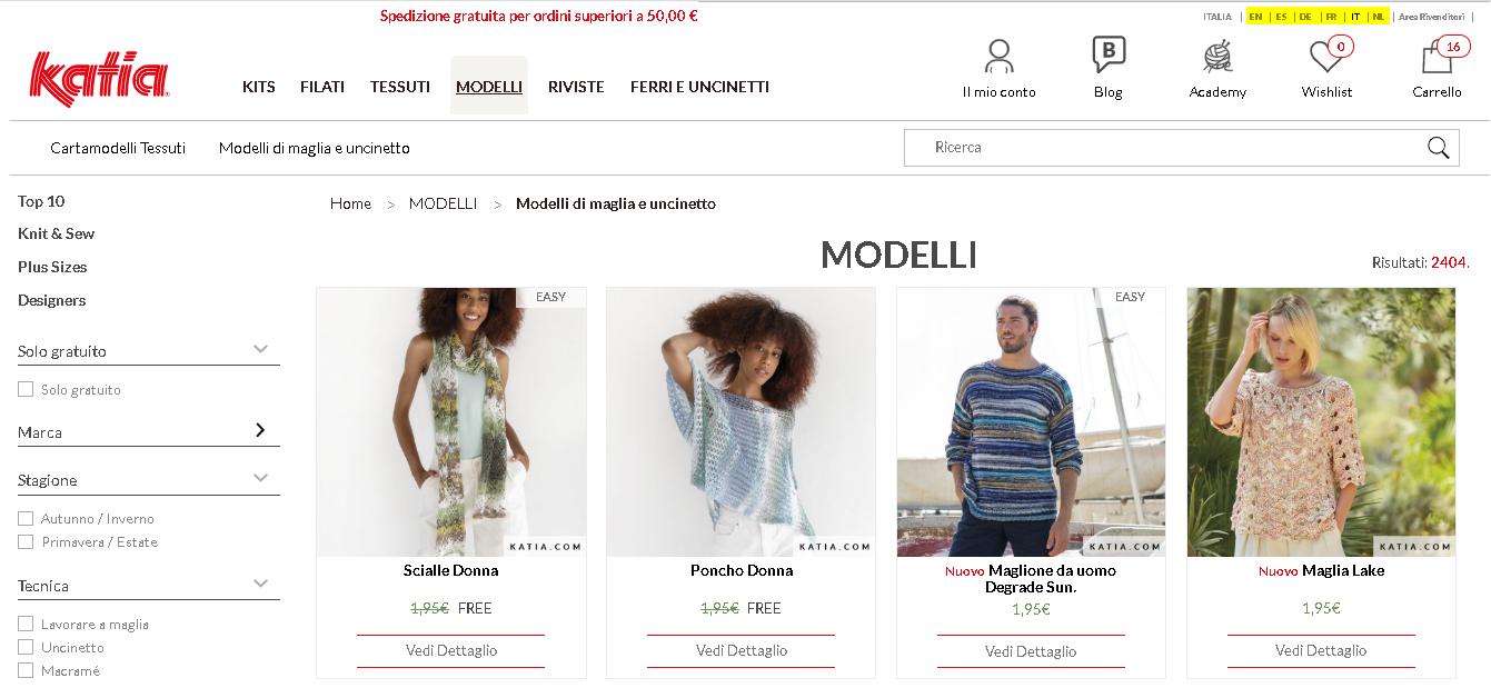 modelli in PDF