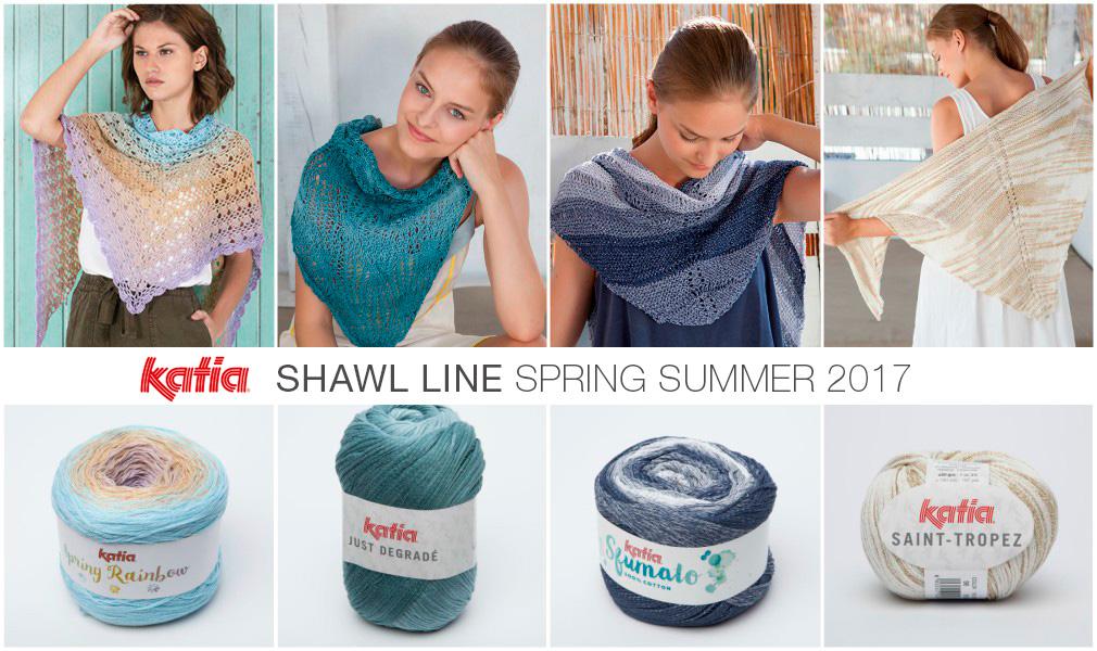 Primavera Estate 2017 Shawl Line