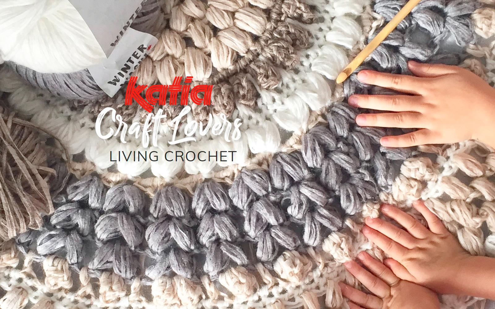 Living Crochet E Come Realizzare Alluncinetto Un Tappeto Con Winter