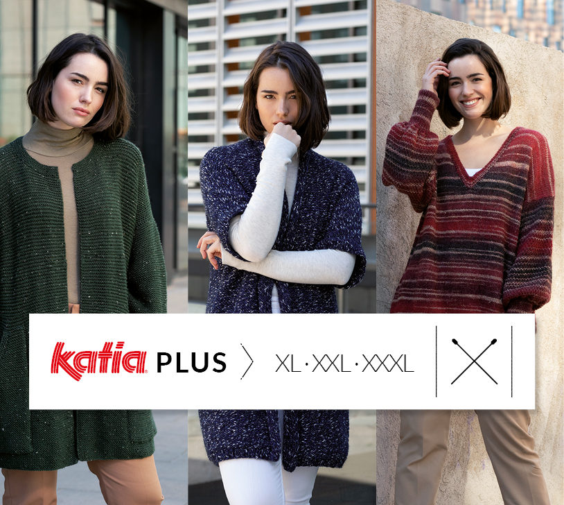 Katia Plus modelli ai ferri