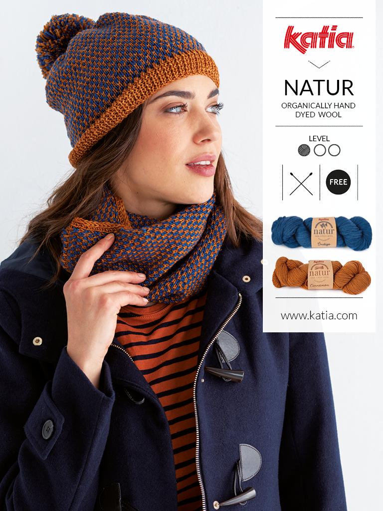 lavorare un cappello di lana
